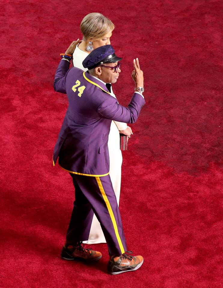 Spike Lee z żoą Tonyą Lewis Lee