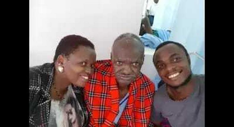 Eutychus Mwaura's family
