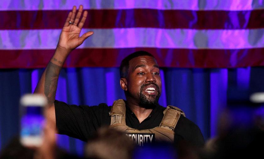Kanye West uznał swoją porażkę w wyborach