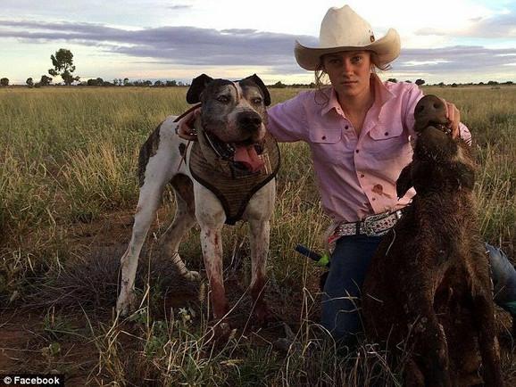 Tinejdžerka Bri Tatam kaže da na ovaj način štiti svoju farmu