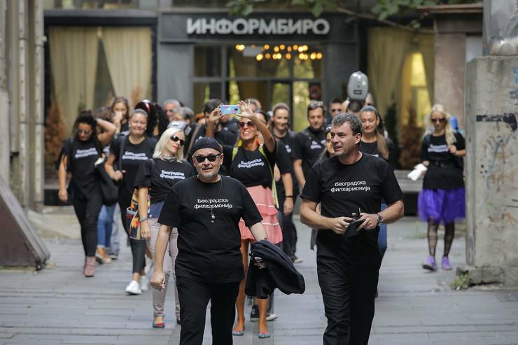 Beogradska filharmonija u Knez Mihailovoj ulici