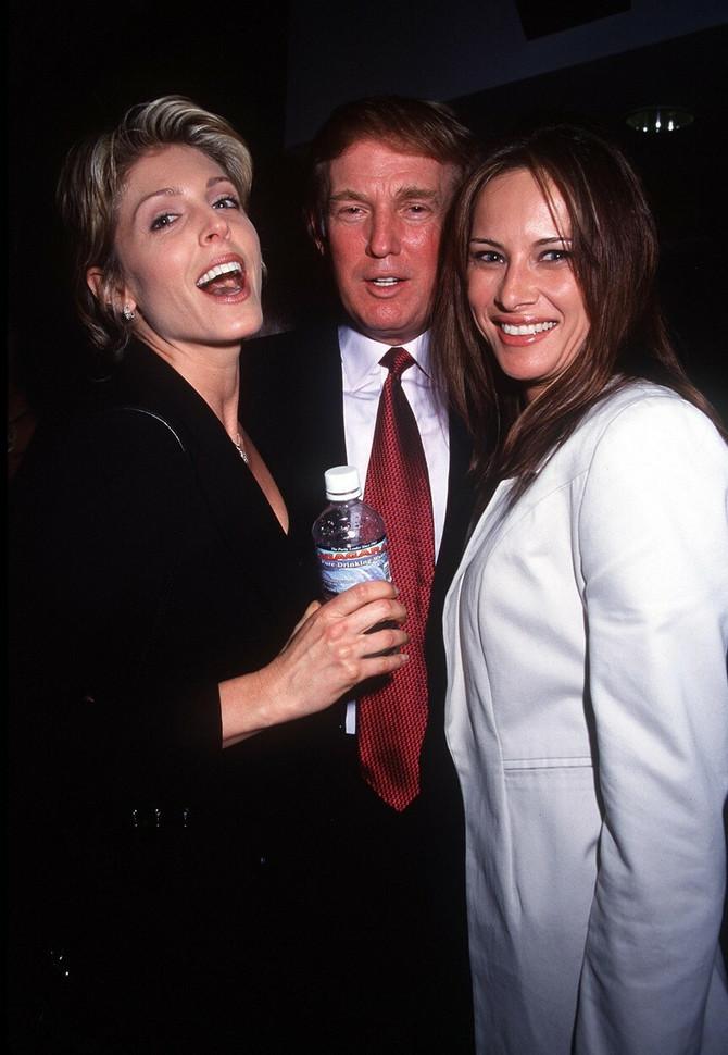 Megan Markl, Donald Tramp i Melanija Tramp