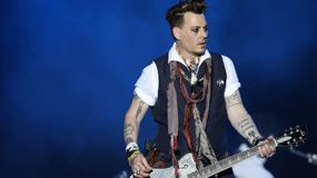 Koncert Johnny'ego Deppa odbył się mimo gróźb bojkotu