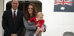 Kate, William i George wrócili do domu