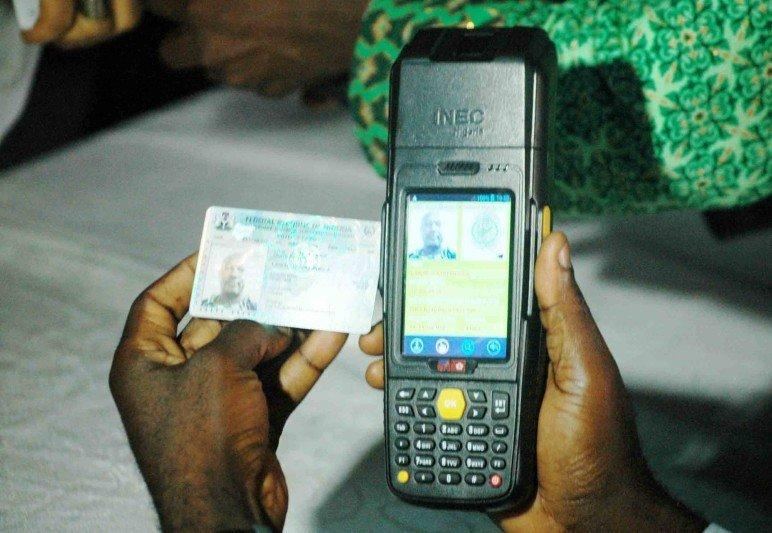Card Reader in use during the last election