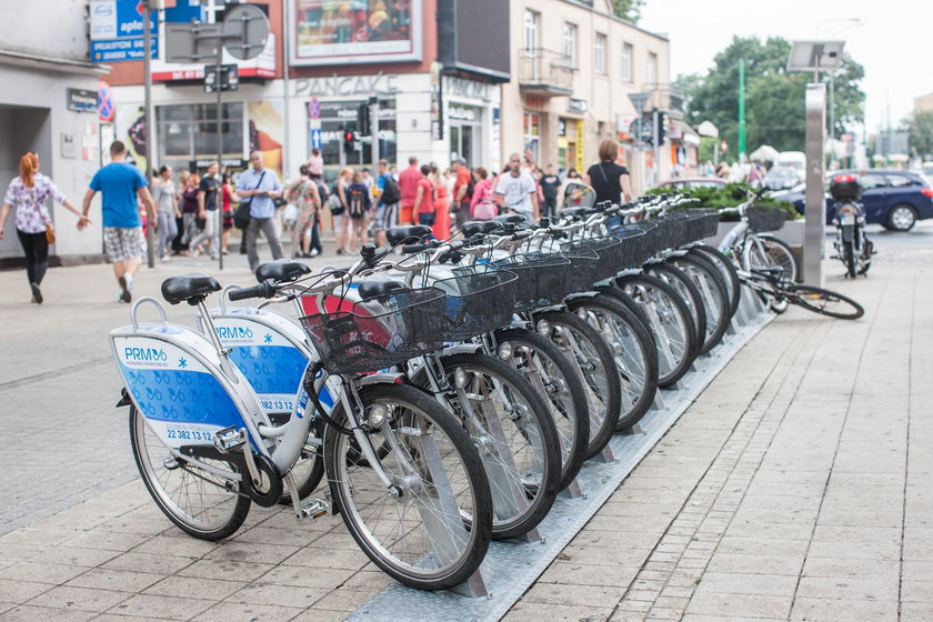 Nowe stacje rowerowe
