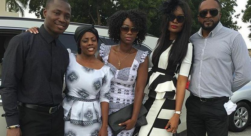 Sandra Ankobiah, Benny Blanco,Ama K Abebrese, Martin Asiedu-Dartey and Nana Aba Anamoah