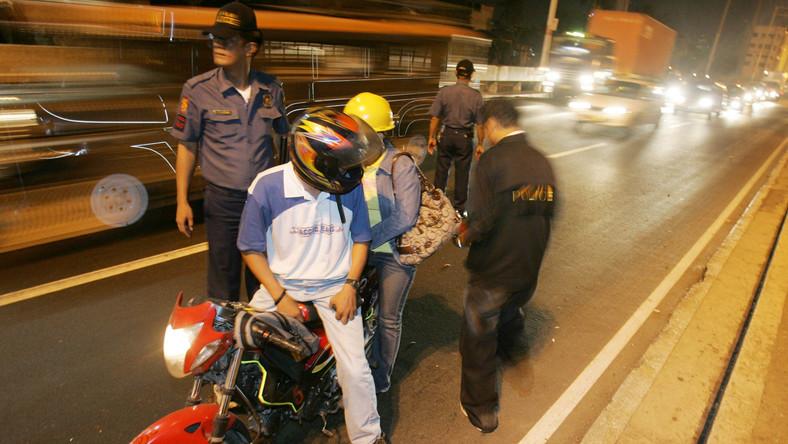 Zamachy na Filipinach to często dzieło zamaskowanych motocyklistów