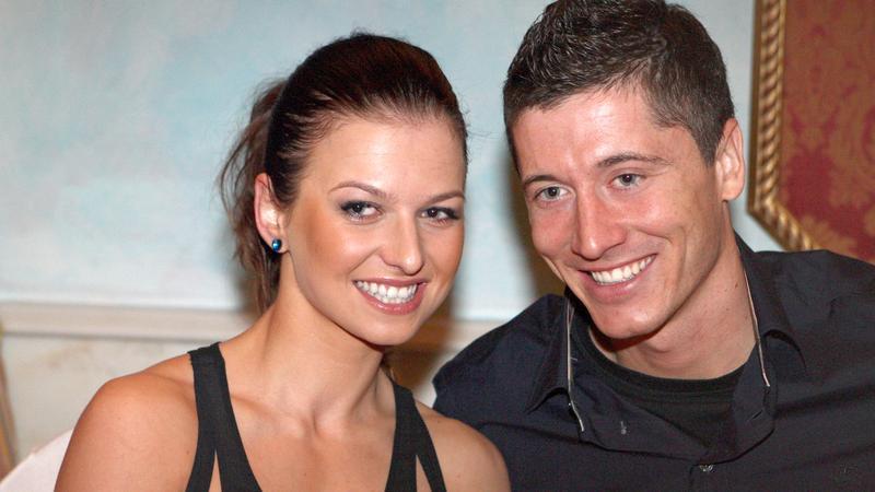 Anna Stachurska i Robert Lewandowski
