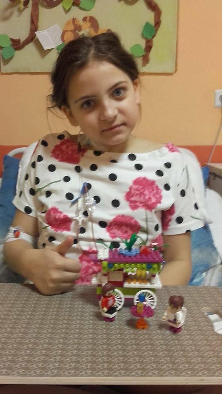 10-letnia Wiktoria pilnie potrzebuje dawcy szpiku