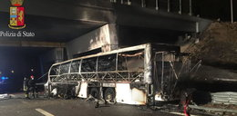 Autokar z dziećmi spłonął na autostradzie! Nie żyje 16 osób