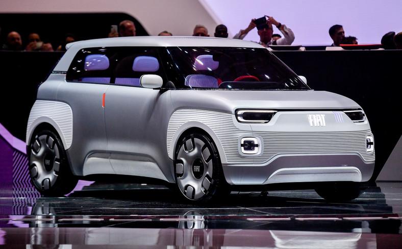 """Prototypowy Fiat Centoventi zdobył nagrodę """"Red Dot Award"""" w kategorii """"Design Concept"""". To jedno z najbardziej prestiżowych wyróżnień na świecie w dziedzinie wzornictwa przemysłowego. Smaczkiem stylistycznym są m.in. cztery paski poziomu naładowania akumulatorów przypominające logo marki z 1980 roku"""