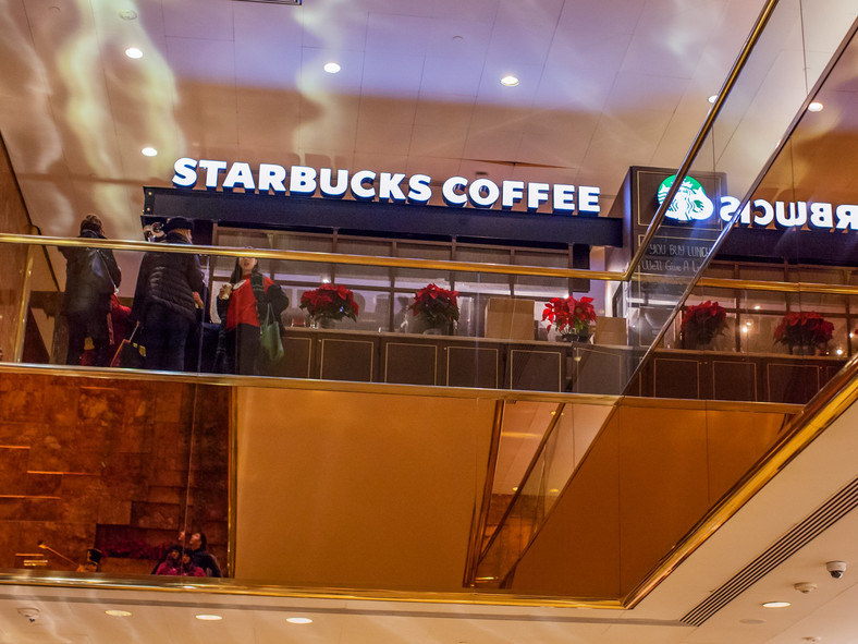 Ivanka Trump Trump Tower Starbucks