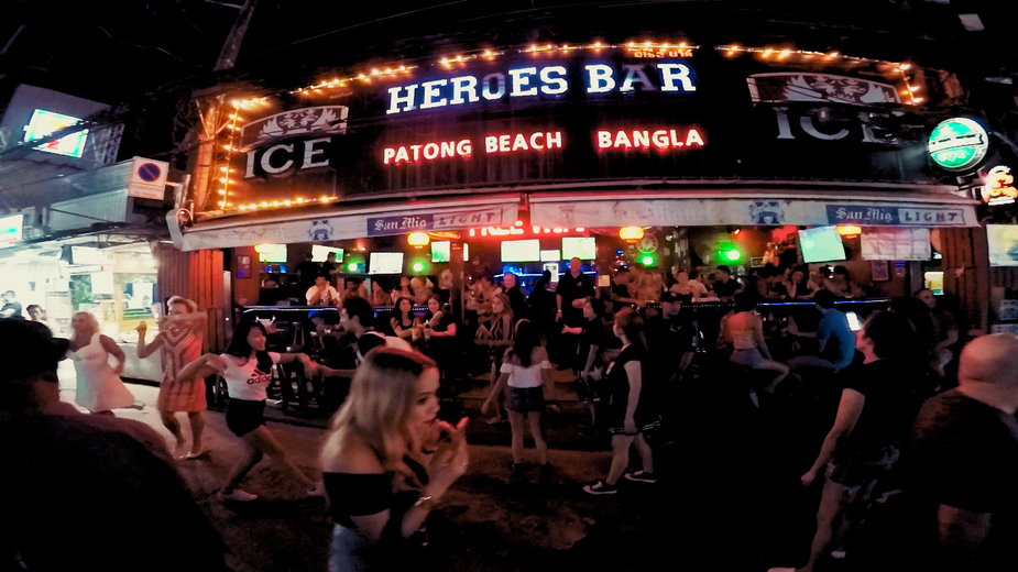 Tajlandia, Phuket, dzielnica rozrywki Patong Beach