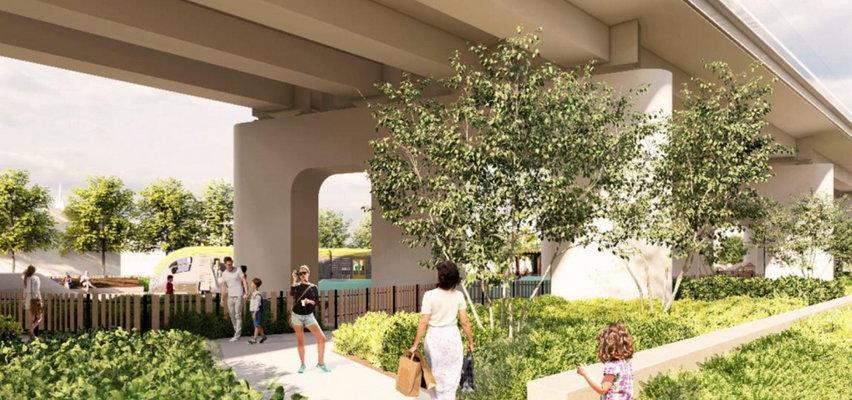 Będzie park pod estakadami kolejowymi. Powstanie tu miejsce do wypoczynku i rekreacji