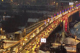 Pojačan saobraćaj na mostu Gazela