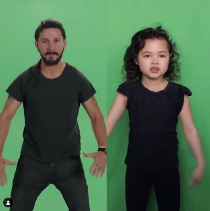 Malena Rajli imitacijama pokazuje glumački talenat