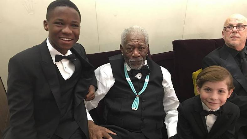 Abraham Attah, veteran actor Freeman Morgan and Canadian young actor Jacob Tremblay
