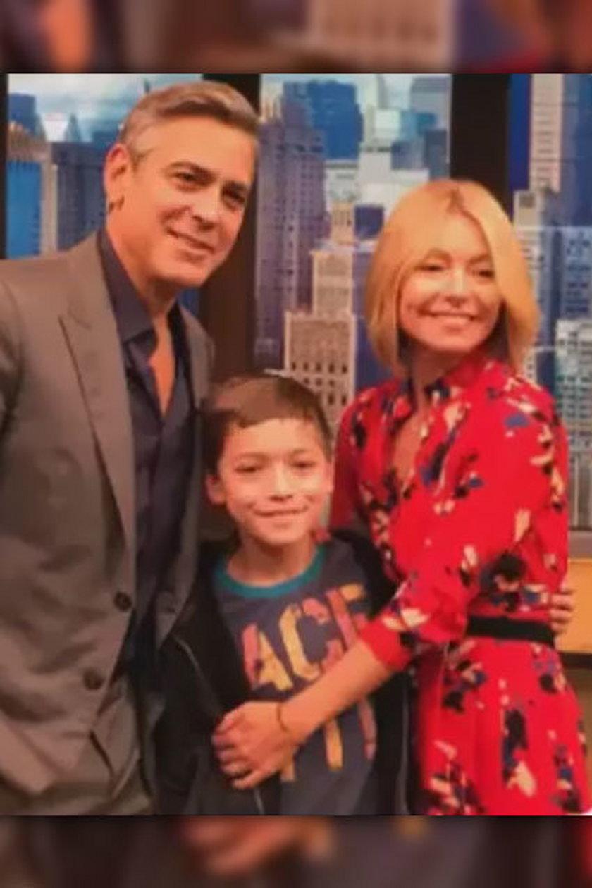 George Clooney i Kelly Ripa