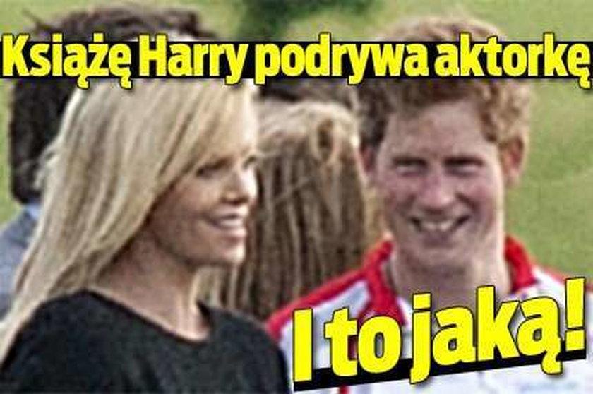 Książę Harry podrywa aktorkę. I to jaką!