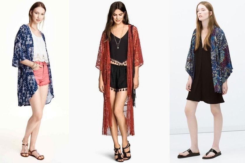 Najmodniejsze kimona sezonu. Które wybierasz?