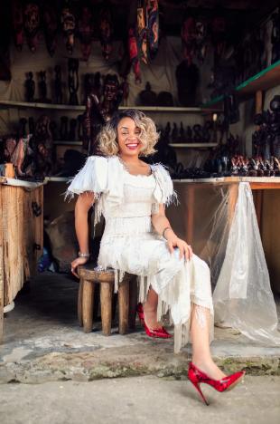 Fringe and more at Lekki arts and craft market [Bella Naija Style]