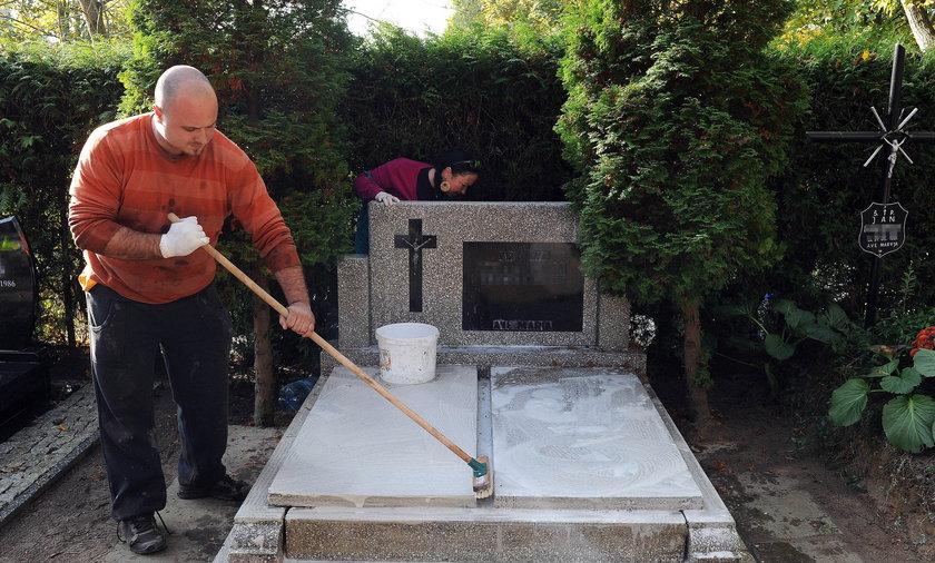 grób sprzątanie cmentarz