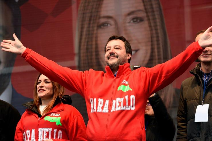 Salvini i Lucija Borgonjzoni