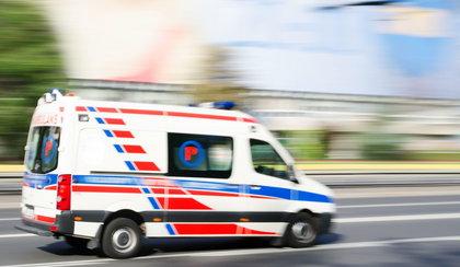 Groźny wypadek koło Kościerzyny. Ranne dzieci