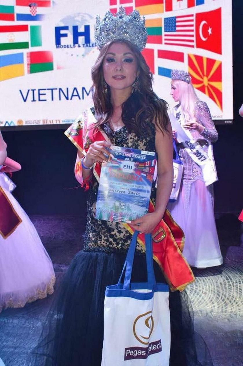 Tragiczna śmierć pięknej miss. Sania Szakirowa zginęła w wypadku samochodowym