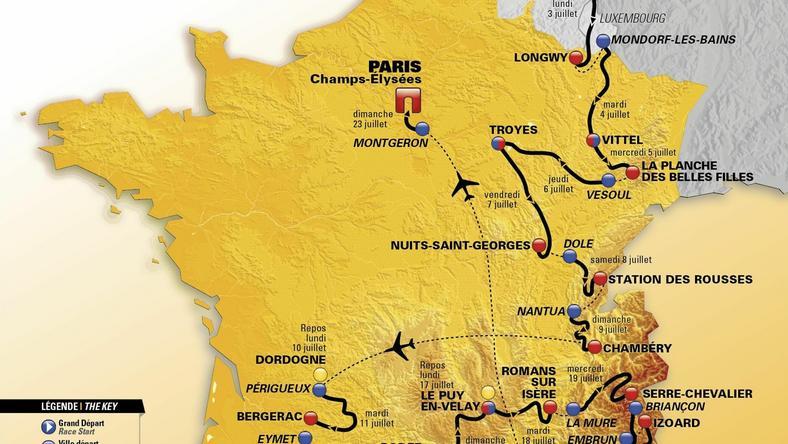 Tour de France 2017 faworyzuje agresywnych kolarzy