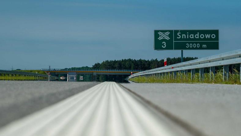 Nowy odcinek Via Baltica między Śniadowem a Łomżą