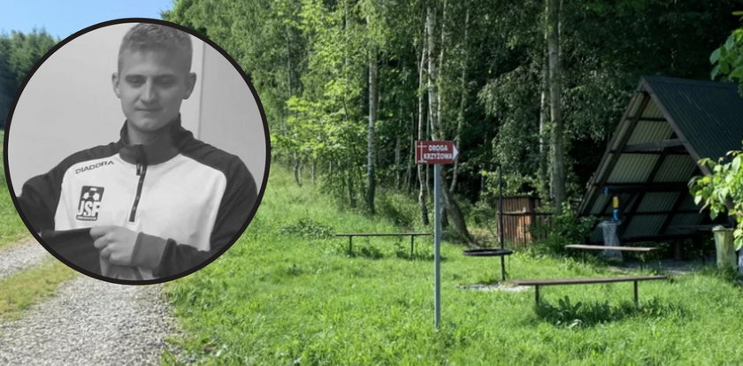 Tragiczna śmierć Franka Pazdana, młodego piłkarza z Podkarpacia. Koledzy znaleźli jego ciało na szlaku drogi krzyżowej