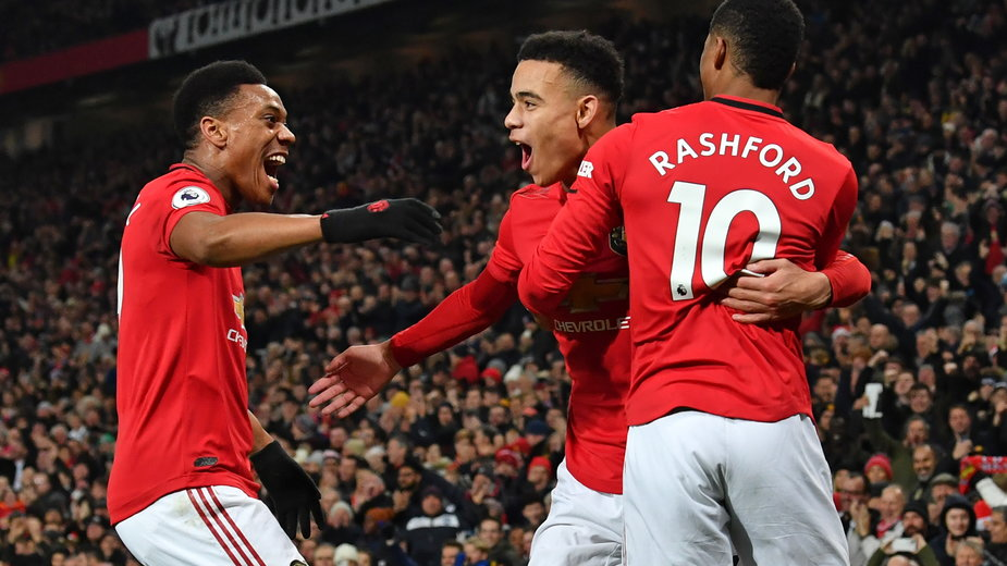 Martial, Rashford i Greenwood