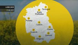 Prognoza pogody dla woj. lubelskiego - 17.08