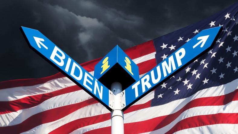 Wybory prezydenckie w USA. Biden. Trump