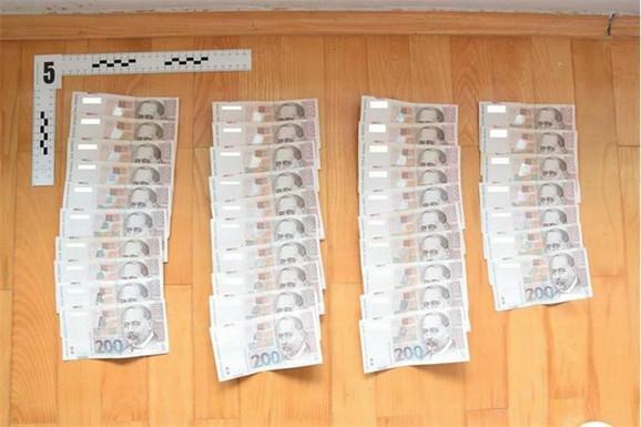 Tokom akcije zaplenjen je i novac