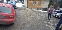 Makabryczny wypadek na Podhalu. Samochód przygniótł 40-latkę