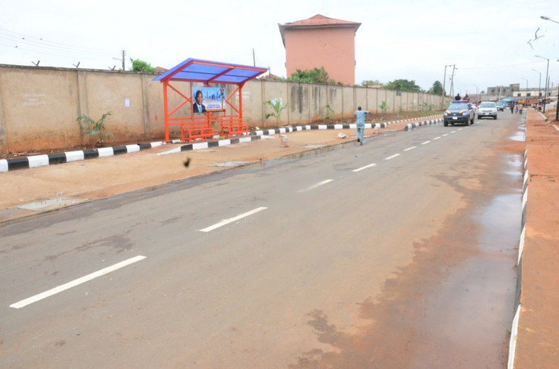 The New Agric Access Road at Egan in Lagos (NAN)