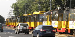 Zderzenie tramwajów na Andersa. Dwie osoby ranne