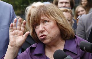 Noblistka Swiatłana Aleksiejewicz odmówiła składania zeznań w Komitecie Śledczym