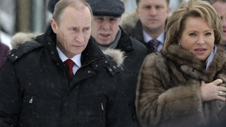 Walentina Matwijenko; Władmir Putin