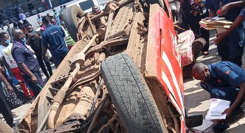 Another vehicle involved in accident at Likoni Crossing Channel