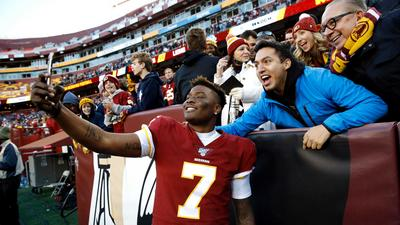 It's official — Washington's NFL team confirmed it's dropping the 'Redskins' name and logo after years of protests (FDX)