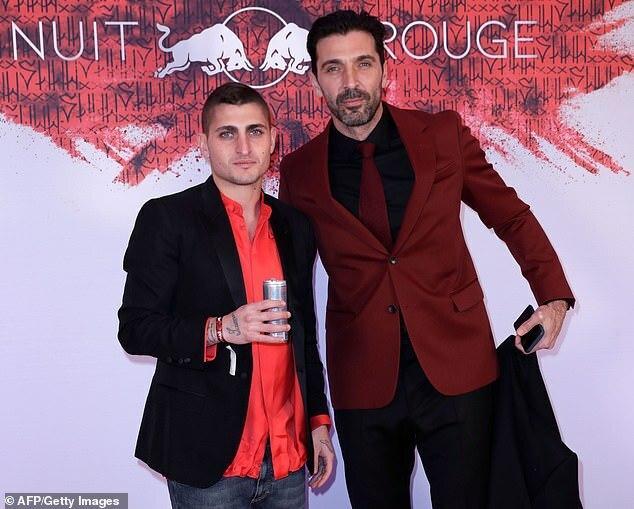 Marco Verratti and Gianluigi Buffon [Getty Images]