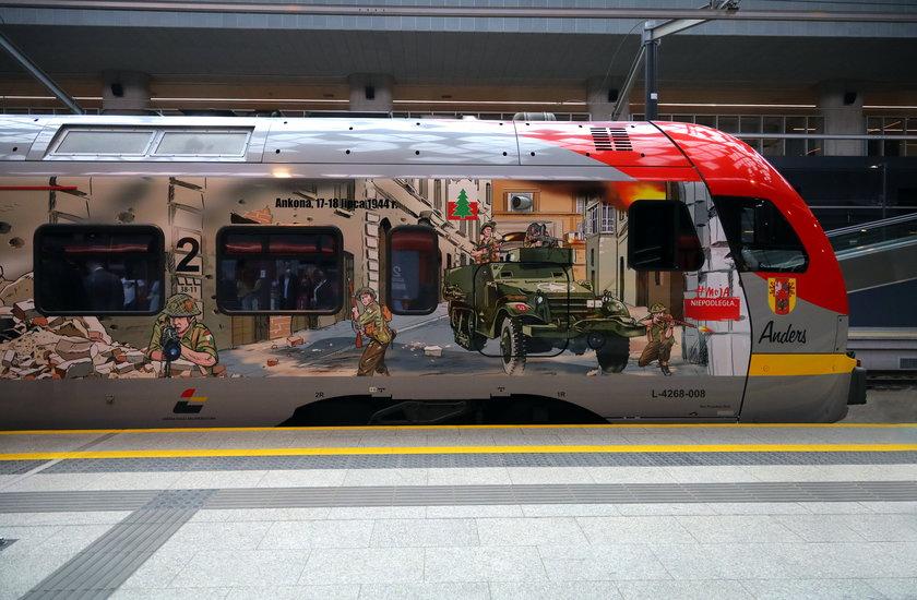 Pociąg Anders Łódzkiej Kolei Aglomeracyjnej
