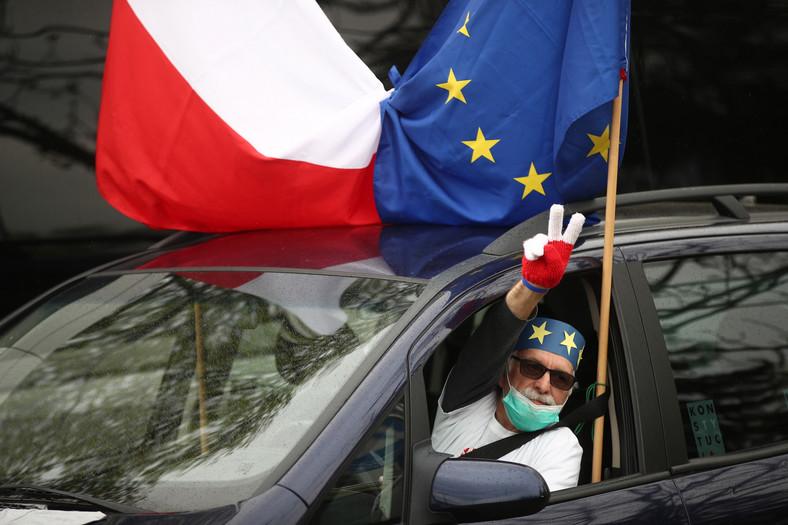 Rocznica wejścia do Unii w Krakowie