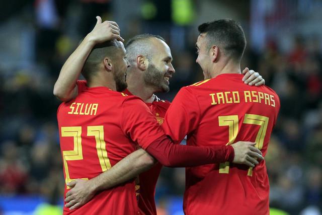 Slavlje fudbalera Španije