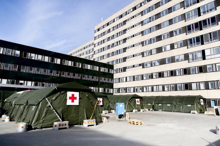 privremene bolnice Svedska Geteburg 03 foto EPA Adam Ihse TT