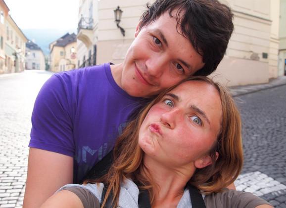 Jan Kucijak i Martina Kušnirova